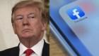 Facebook elimina anuncios de Trump que usaron símbolo nazi