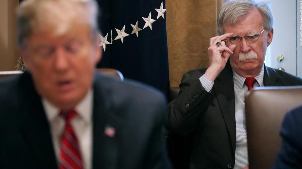 Las revelaciones del libro de John Bolton