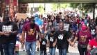 Así fueron las protestas en Atlanta en el Juneteenth