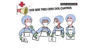 ¿Puedes descubrir a qué doctor o doctora están llamando?