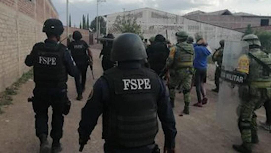 Disturbios tras arrestos de posibles integrantes de cartel