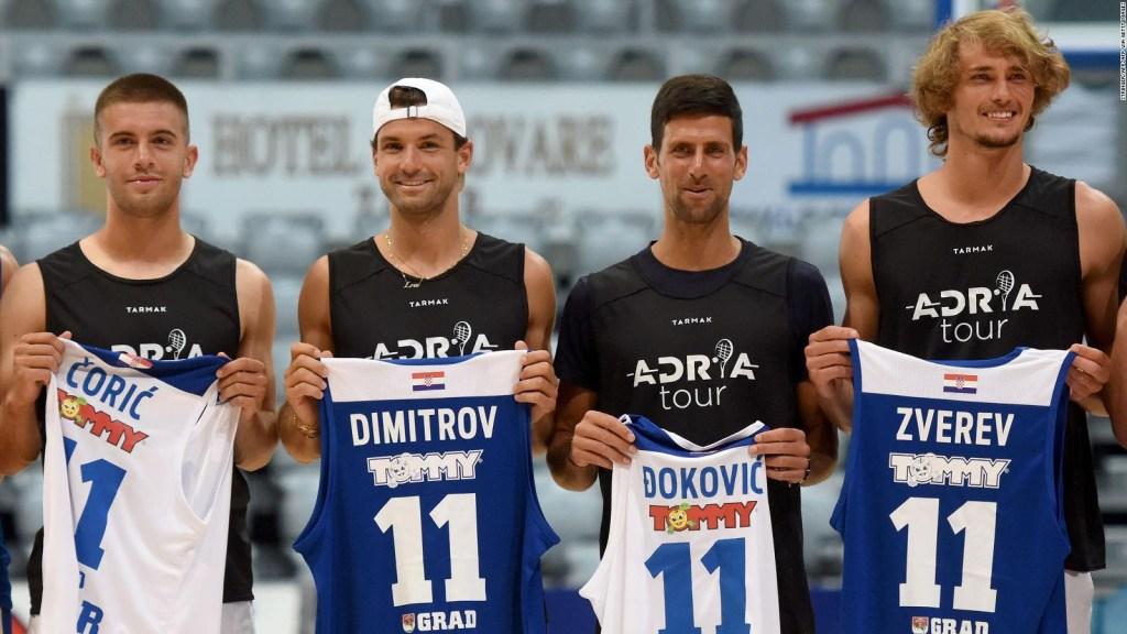Los tenistas Dimitrov y Borna Coric, positivos por coronavirus