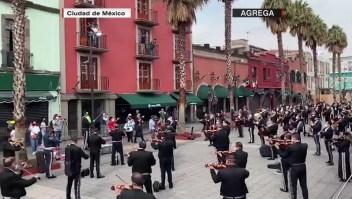 Una iniciativa para apoyar a los mariachis de México