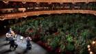 Insólito concierto para plantas en Barcelona