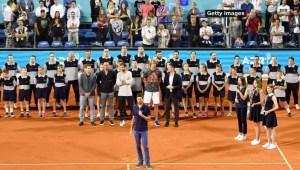 La reacción de Djokovic tras los contagios en su torneo