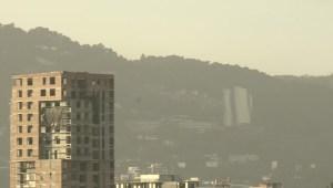 El polvo del Sahara llega a Guatemala