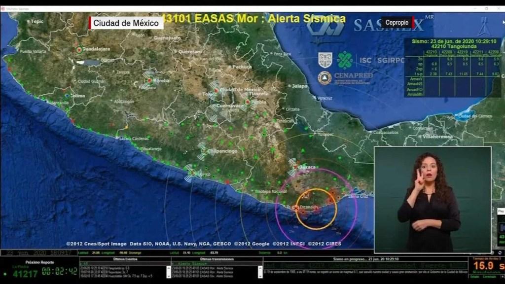 Los daños que dejó el sismo en Oaxaca
