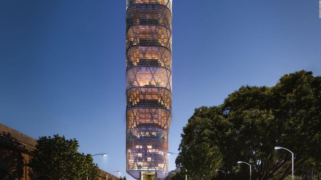 Así será la torre de madera más alta del mundo