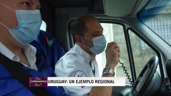 Uruguay: Así encaran los médicos a domicilio al covid-19