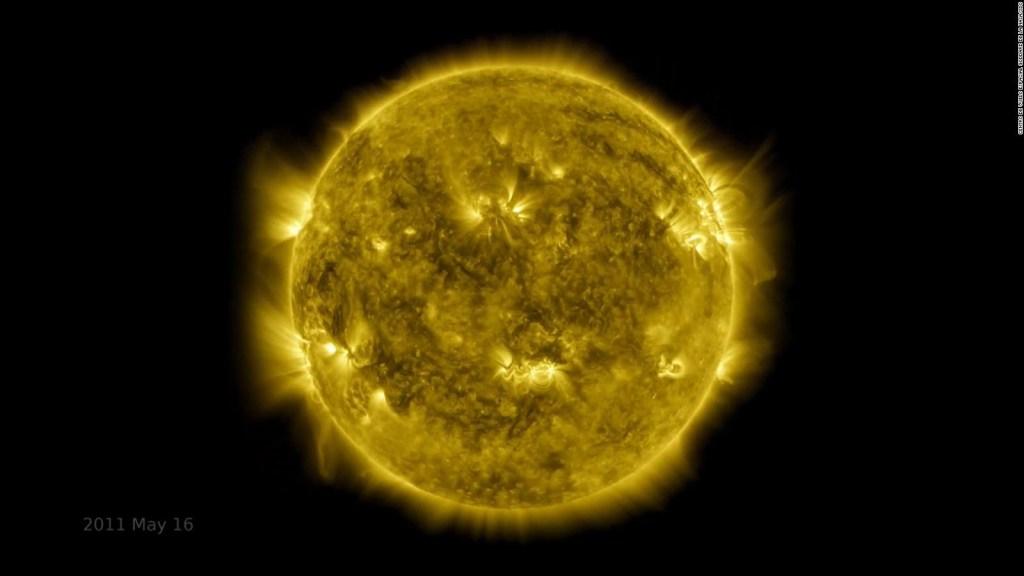 60 días de actividad solar en un minuto