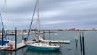 Argentino cruza el Atlántico en un velero para volver a ver a su familia