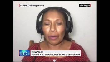 Mujer nicaragüense denuncia acoso por el gobierno de Daniel Ortega