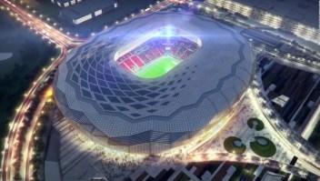 """Qatar presenta su estadio """"Diamante en el Desierto"""""""