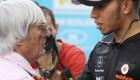 F1: Hamilton reacciona a las declaraciones de Ecclestone