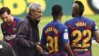 Cambios en un Barcelona diezmado