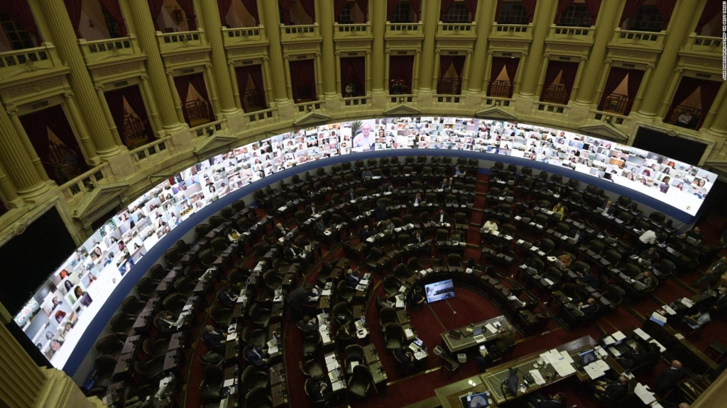 El covid-19 llega al Congreso de Argentina