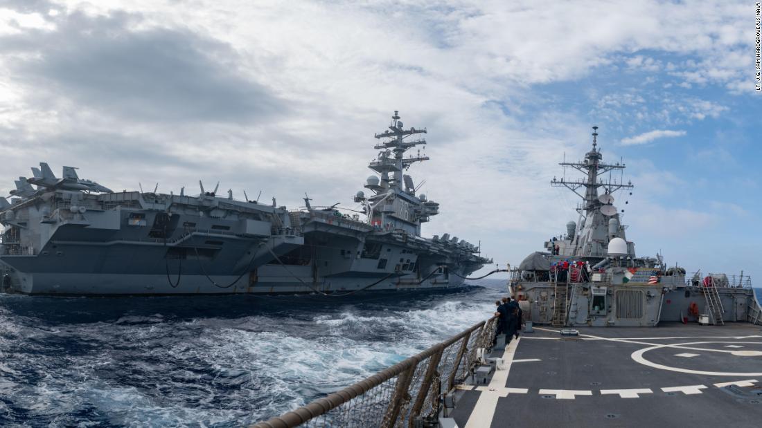 Tres portaaviones de la Marina de EE.UU. patrullan el Océano Pacífico al mismo tiempo. Y China no está contenta