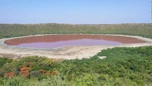 Un lago de 50.000 años de antigüedad en India se puso rosado y los expertos no saben exactamente por qué