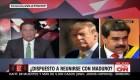 Donald Trump, ¿dispuesto a reunirse con Nicolás Maduro?