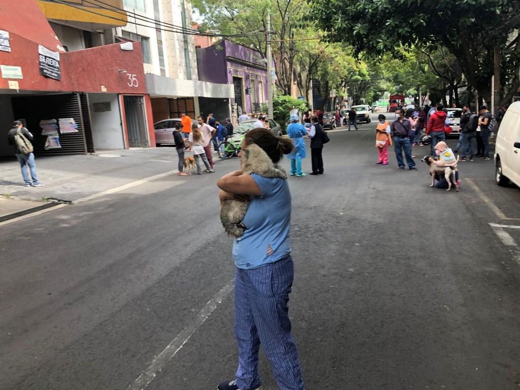 Terremoto sacudió a parte de México