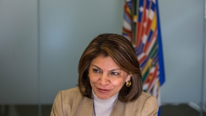 Laura Chinchilla defiende aspiración a presidir el BID