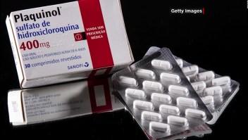 Contradicen estudio sobre el uso de hidroxicloroquina contra el covid-19