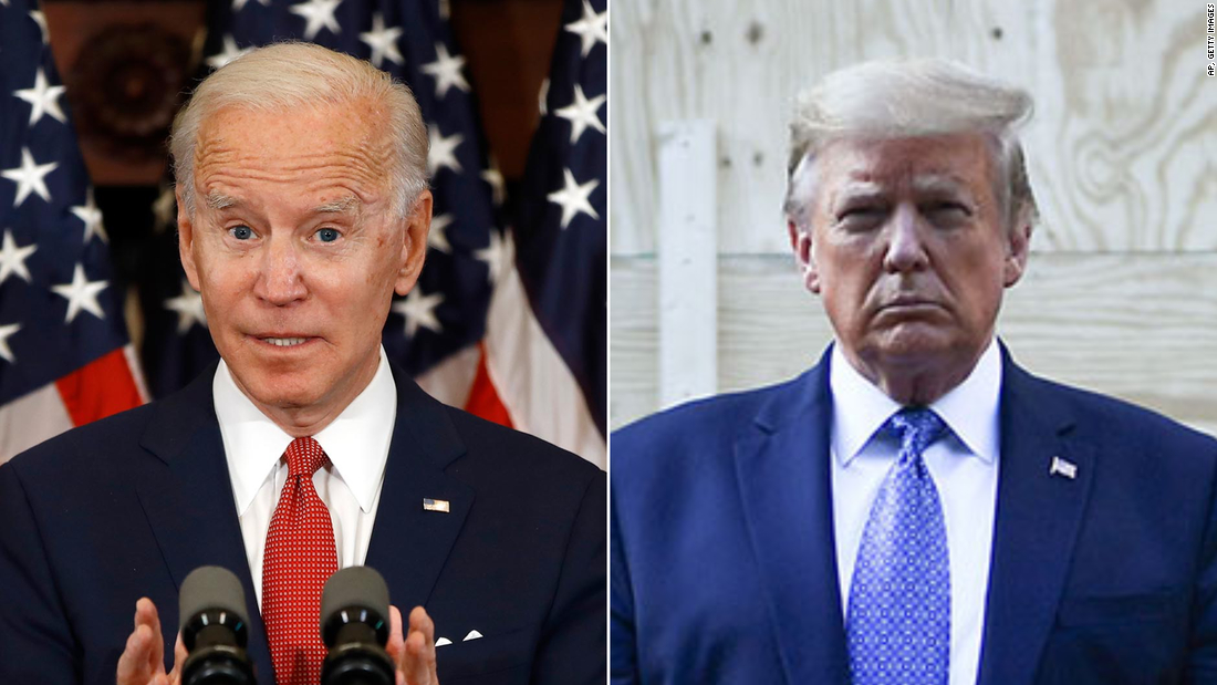 Biden aventaja por 12 puntos a Trump en Michigan