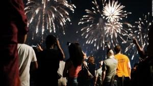 4 de julio - fuegos artificiales - desinfectante