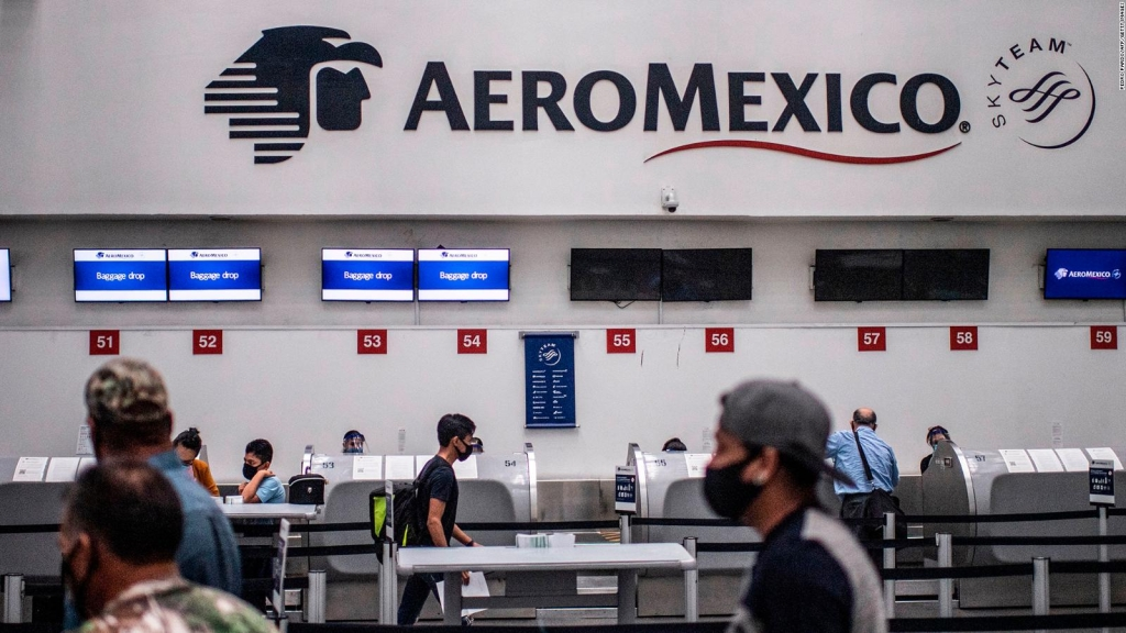 El futuro de Aeroméxico tras declararse en bancarrota en EE.UU.