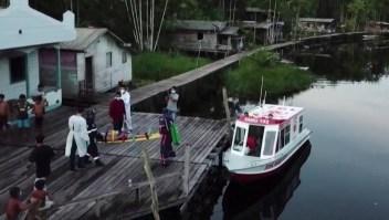 Ambulancias acuáticas, un salvavidas ante el covid-19 en Brasil
