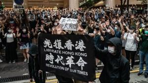 El primer día de la nueva ley de seguridad nacional de Hong Kong