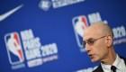 Le commissaire de la NBA n'exclut pas d'arrêter la saison