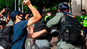 Los arrestos por las protestas contra nueva ley en Hong Kong