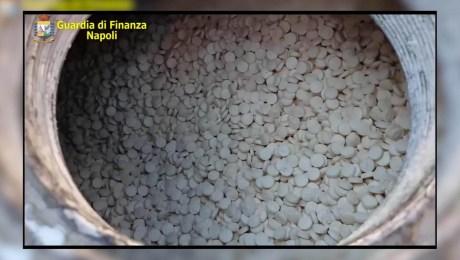 Incautan millonario cargamento de anfetaminas en Italia