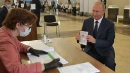 Así invitó el Kremlin por mantener a Putin en el poder