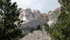 Celebración en Monte Rushmore, sin distanciamiento social