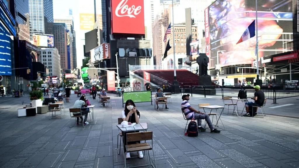 La nueva cara de Times Square