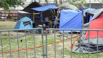 Campamentos de migrantes enfrentan el covid-19