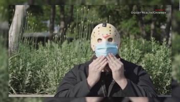 """Jason de """"Viernes 13"""" concientiza sobre uso de mascarilla"""