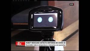 Robot contra el covid-19