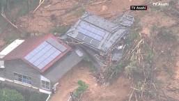 Japón comienza a buscar sobrevivientes tras inundaciones