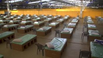 India abre uno de los hospitales más grandes del mundo para covid-19