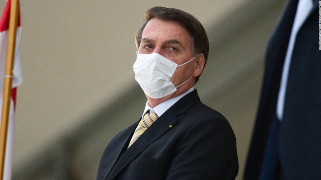 Qué dijo Bolsonaro sobre su estado de salud
