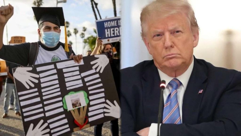 """Trump vuelve contra los """"dreamers"""""""
