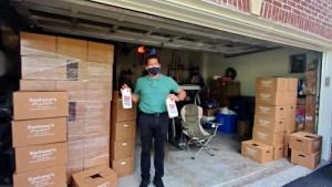 Rufino, el salvadoreño que ayuda con alimentos a quienes pasan hambre en Maryland