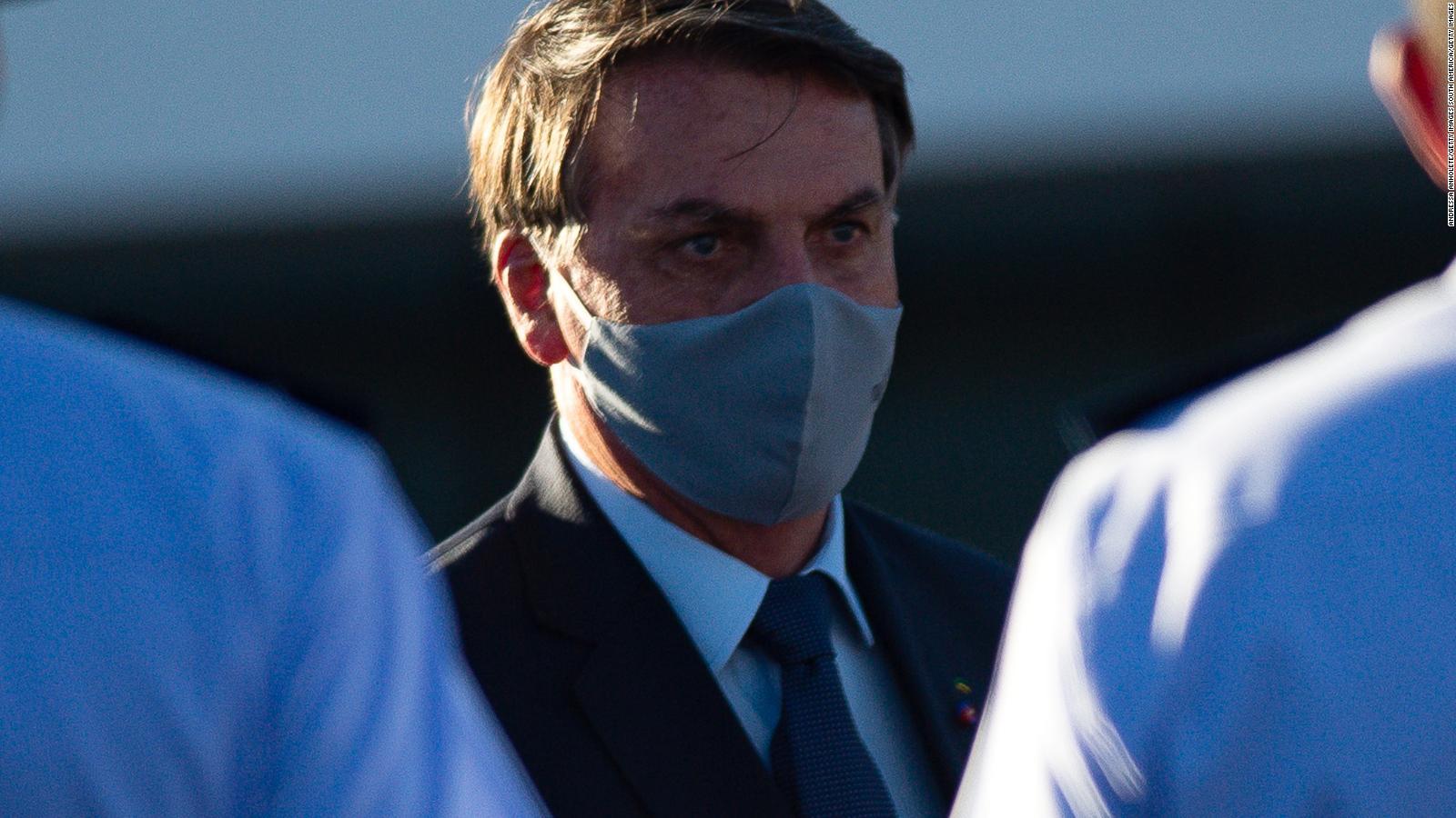 Estadísticamente, Bolsonaro saldría del covid-19, dice experto