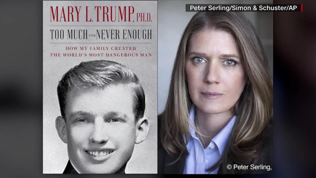 Sale a la venta el libro de la sobrina de Trump