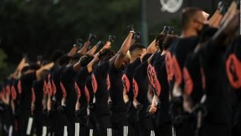 El gesto de futbolistas de la MLS contra el racismo