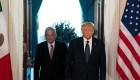 Encuentro entre López Obrador y Donald Trump, marcado por elogios mutuos
