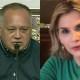 Jeanine Áñez y Diosdado Cabello, positivos por covid-19